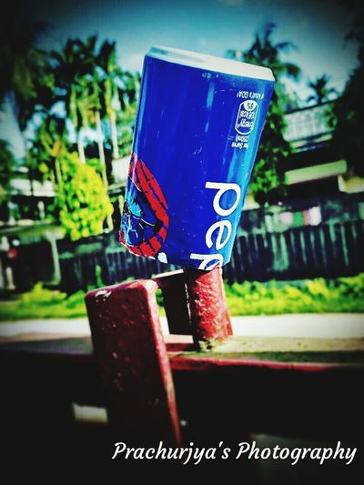 Empty PepsiIPL Can The Week On EyeEm EyeEmNewHere