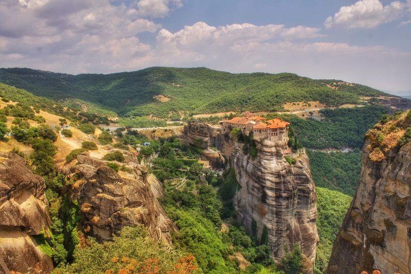 ROUSSANOU MONASTERY FROM GREECE, METEORA