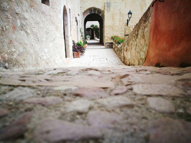 EyeEm Selects Ancient Civilization Arch Architecture Built Structure Building Exterior Archway Historic Pathway History Historic Building Castle