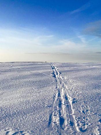 Tourenski Ski Track Skiing Sky Winter Cold Temperature Snow Scenics - Nature Land Beauty In Nature Outdoors