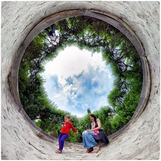 Theta360 Family The Eden Project