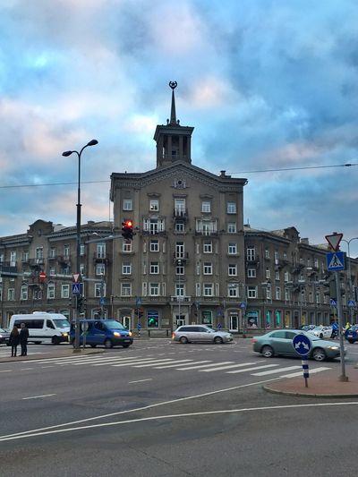Tallinn Traffic Buildings Baltics2k16