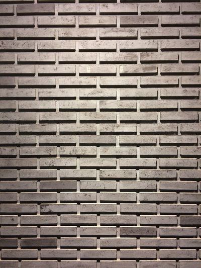 Brick wall Backgrounds Full Frame Pattern Textured  Wall - Building Feature No People Built Structure Brick Wall Brick Wall Close-up Architecture Repetition Day Indoors  Design Shape