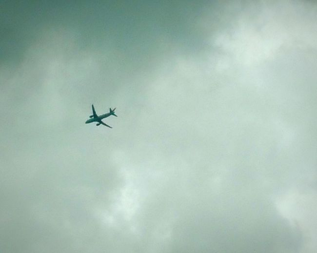 Plane Plane In The Sky Flying Plane Flying Aeroplane Clouds