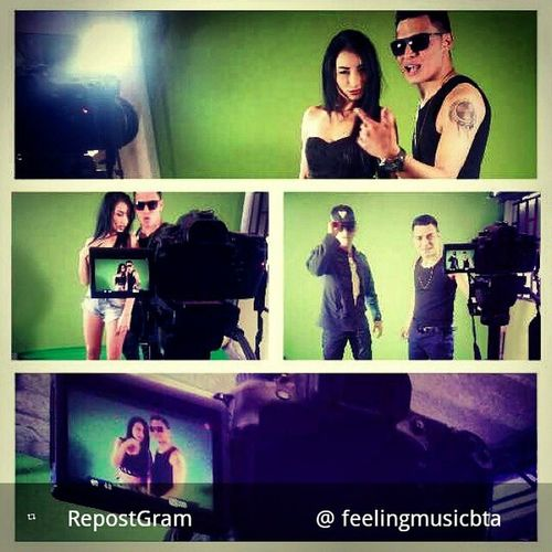 @_karlclay @fofepro grabando el Video ACERCATE Mamboteo Mambo Urban Urbanmusic Music TBT  Tt Ss Feelingmusic Feelingmusicbta @gangstatco @ganstervidbta Videooficial Bogotá Colombia Karlclay Costosos Losmejores