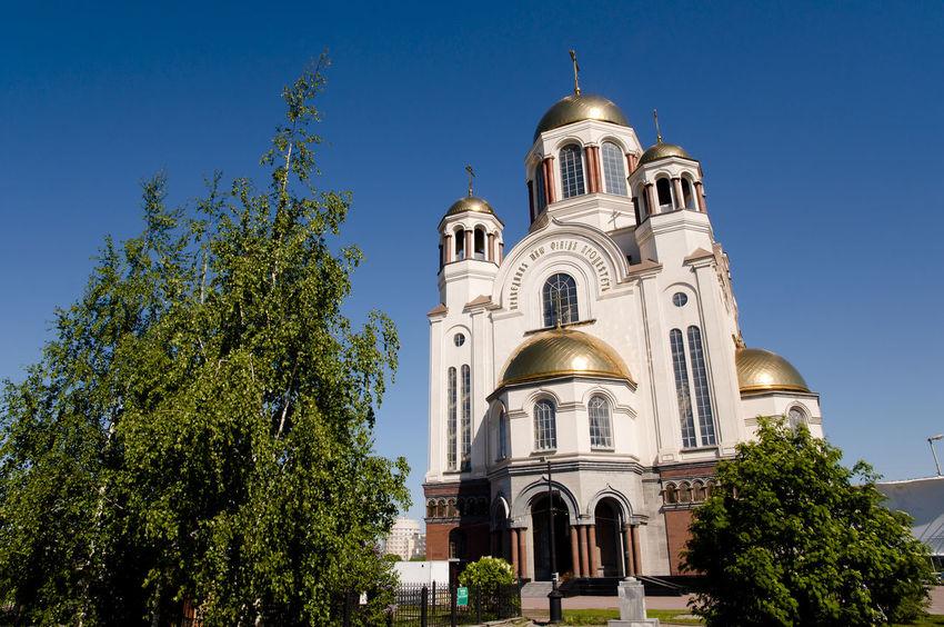 The Church on Blood in Honour of All Saints Church City Ekaterinburg Russia Yekaterinburg All Saints  Honour