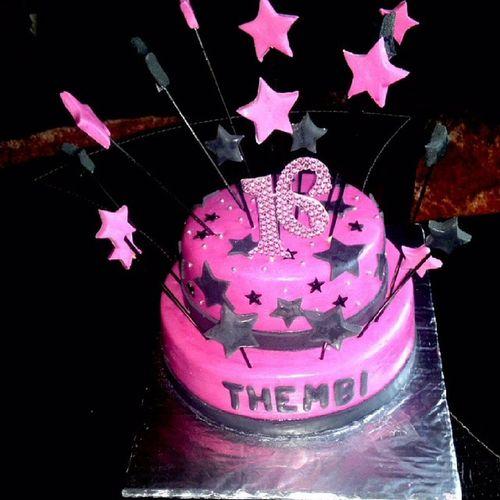 My16th Birthday Cake Pink &BlackGorgeTB