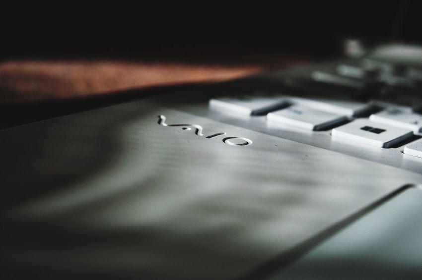 VAIO Sonyvaio Sony Vaio White Keyboard