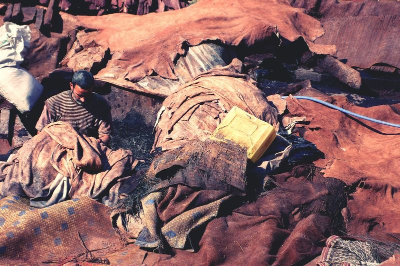 Where leather wallets, belts,etc. Start the process. Travelingphoto Morocco Job Of The Day Leather Craft Taking Photos