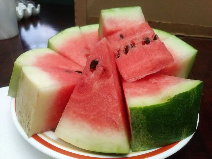 Watermelon, one