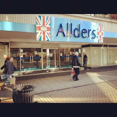 Visions of Croydon Allders Allders Closure Northend Shop croydon shopping