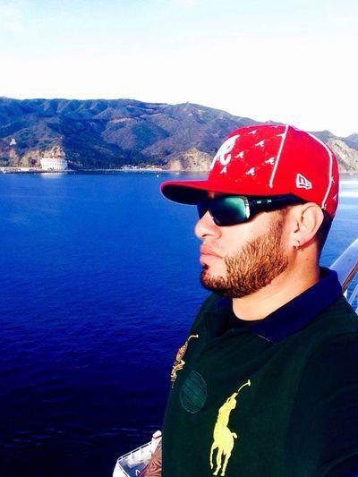 Enjoying the morning inCatalina Island! ?☀️? Relaxing Having Fun Life Is A Beach Enjoying Life Hello World Selfie Being A Tourist From An Ship Window Eye'Em Friends!! That's Me