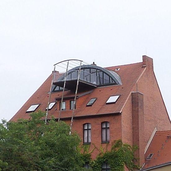 Architektur Kombination Alt und Moderne