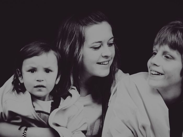 Siblings Portrait 💞 Sibling Love Portrait Of Love Candid Moments EyeEm Best Shots - People + Portrait Portrait Black And White Monochrome Capture The Moment Love Without Boundaries Picturing Individuality Everyday Emotion