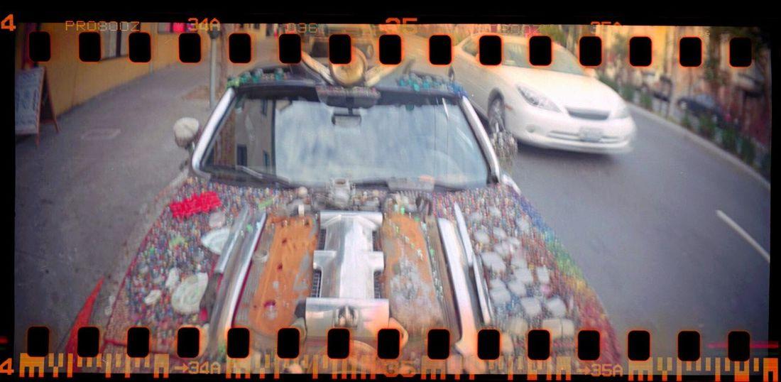 Koduckgirl Artcar Film Sprocket Holes Sprocket Rocket Panorama Lomo800