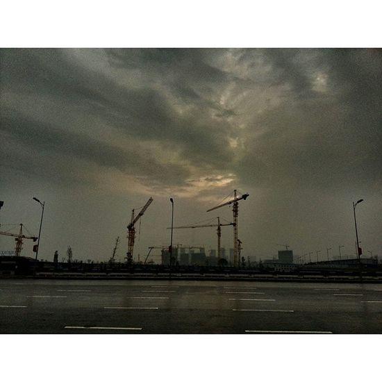 雨后放晴 梅溪湖 长沙 Changsha Snapseed cloud sky 天空