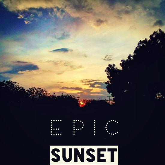 Sunset life is amazing :)
