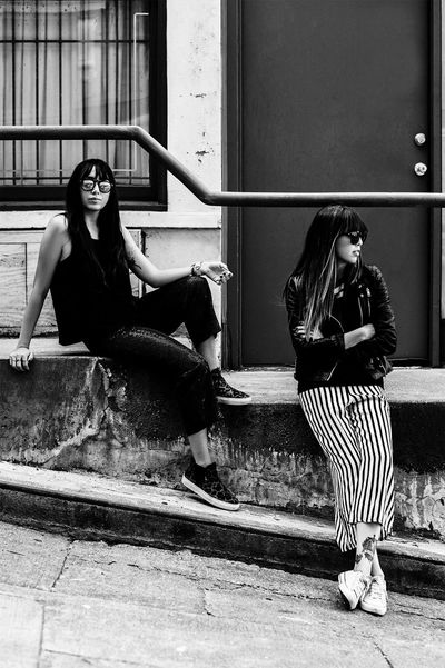 On the Street People Eye4photography  Light And Shadow Fashion Photography Girl Portrait Model Fashion Outdoors Style Building Monochrome Blackandwhite Black And White Black & White Taking Photos Streetphotography Street Photography Street Fashion Welcome To Black