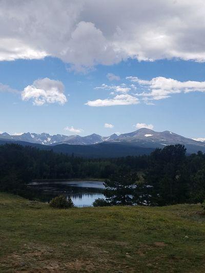 nature Mountain Lake Landscape Tree Outdoor Pursuit Cloud - Sky No People