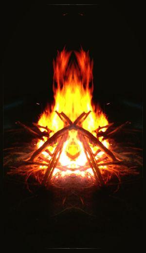 Campfire Art