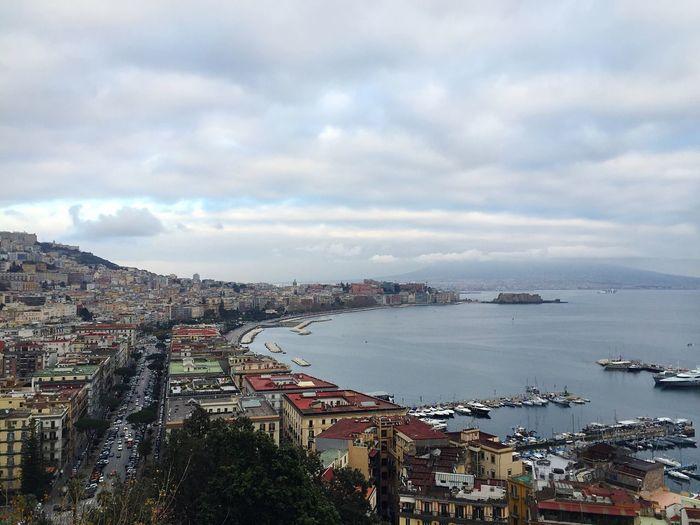 City Napoli Sea Landscape Nature Beautiful Nature Posillipo