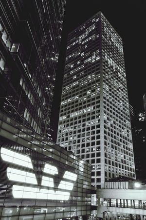 Armani Exchange Night Photography Black And White Black & White