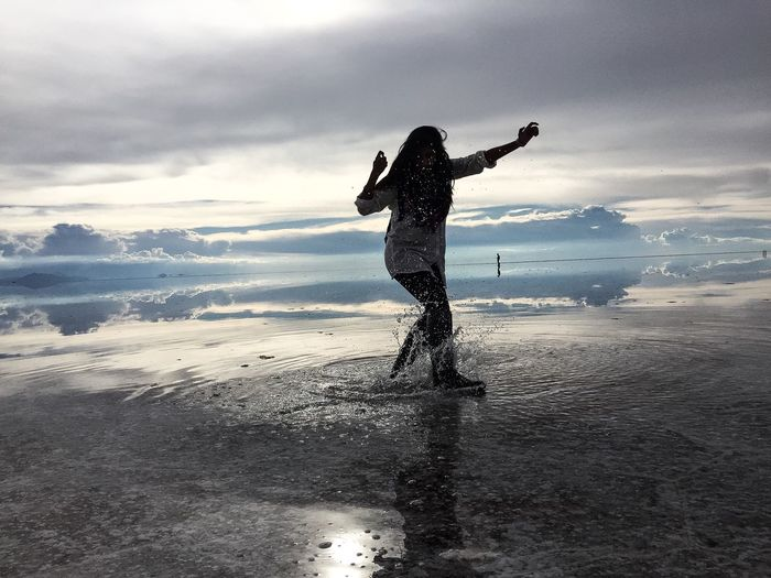 Capturing Movement Photography In Motion Bolivia Uyuni Salt Flats Travel Photography World Traveller Taking Photos Travel Showcase March Reflections Sommergefühle