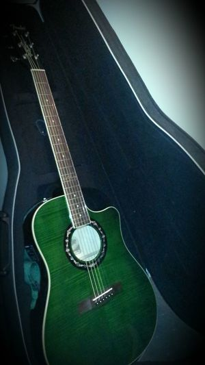 Mybaby Fender Acoustic Electric Guitar ?