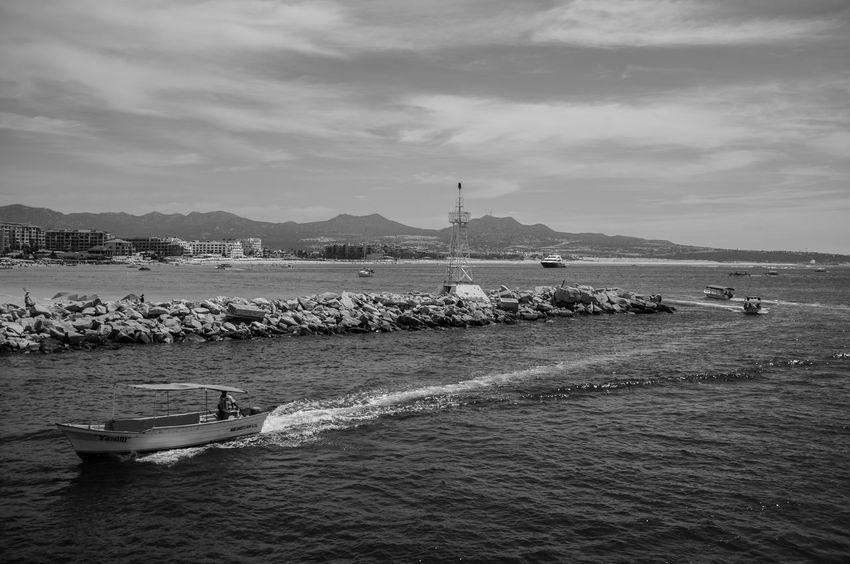 Journey Landsape Nautical Vessel Ocean Sea Seascape Shore Vacation Voyage Water