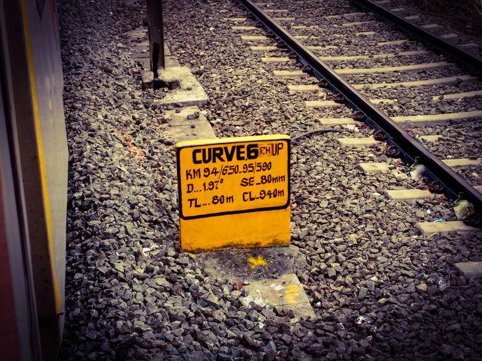 Signs Railway Track Curve 6 Motocam Random_Pics