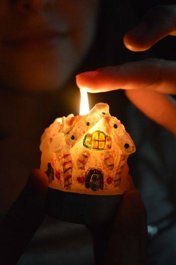Fire Beautiful House огонь свеча домик пламя уют