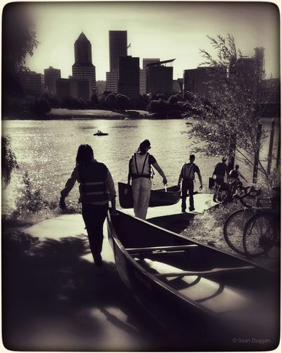 Canoe Class... Portland, Oregon