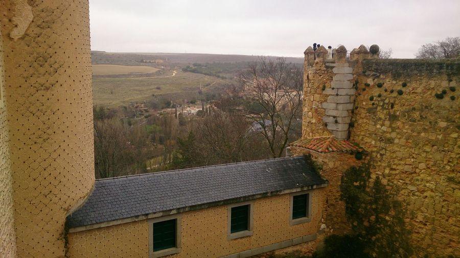 Una Vista desde el Alcázar Segovia