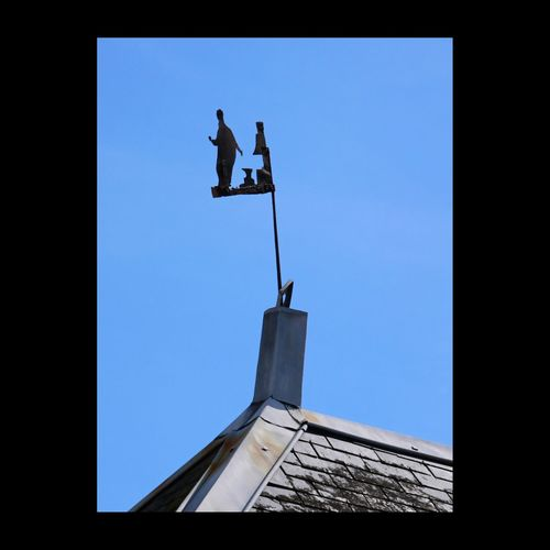 Girouette  Blacksmith  Blue Sky Touraine EyeEmBestPics Eyemphotography Traditional Vane Weathervane Roof