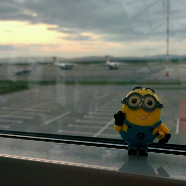 Airport Starting A Trip Minions Dave's Adventures