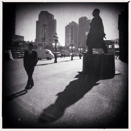 Long Shadows Mobiography Streetphotography Hipstamatic Seoul_korea