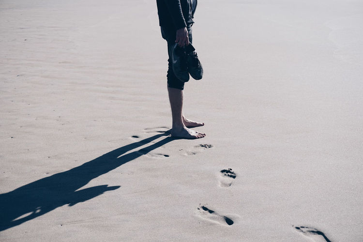 Shadow Adult Beach Boy Day FootPrint Human Leg Leisure Leisure Activity Lonley One Man Only Outdoors Shadow Sneakers EyeEmNewHere