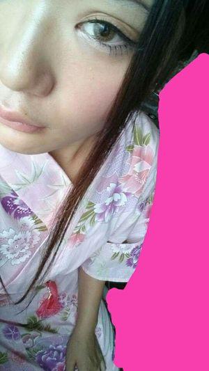 Hi! That's Me Enjoying Life Girl Japan Hello Girls Enjoying Life ゆかた