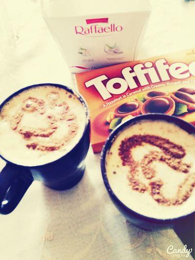 Cappuccino Friends ❤ Toffifee Raffaello