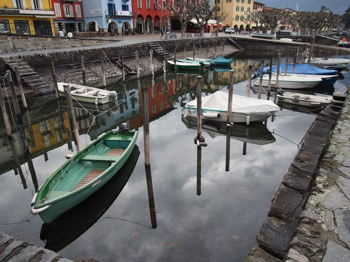 Architecture City Day Harbor Mode Of Transport Moored Nautical Vessel Outdoors Promenade Reflection Transportation Water