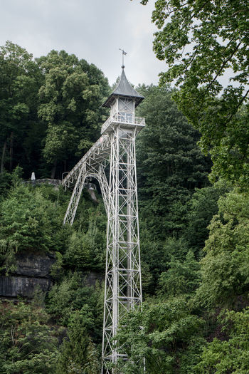 Final pics of Bad Schandau, a small spa town at Elbe river. Elevator Jugendstil Tourist Attraction  Art Deco Architecture Day Metalwork No People Outdoors Spa Tower White