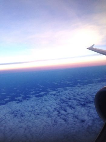 From An Airplane Window Holiday Clouds Beautiful