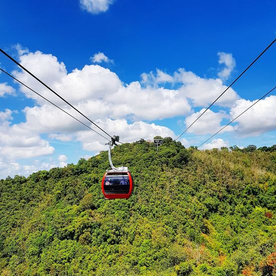 Cable car Travel Tourism Trip Mountain Travel Tourism Hatyai,Thailand Cable Car Technology Cable Electricity  Sky Cloud - Sky Parallel Railroad Track Fuel And Power Generation Railroad Tie Overhead Cable Car Railroad Station Platform Electricity Pylon Power Cable EyeEmNewHere