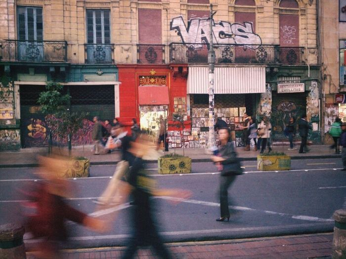 Street Scene Bogotá Colombia ♥  Street Art/Graffiti