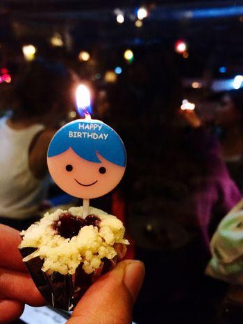 Happy birthday Close-up Night Sweet Food