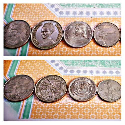 EyeEm Selects Coins Thaicoins Collections No People Coin Thailand Prince  Princess