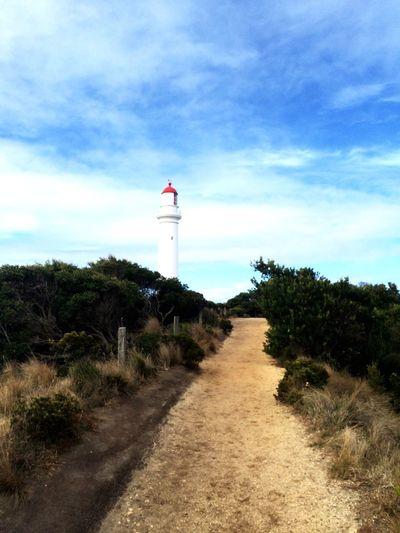 Lighthouse near