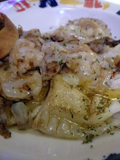 Hungry Girl Hungry Girl Strikes Again Pierogi Pierogies Grilled Onions Foid Food Photography From My Perspective From Where I Sit Drooling Favorite Foods Things I Love