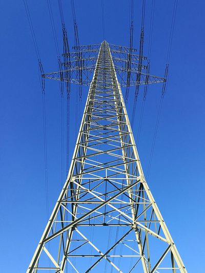 Electricity  Clear Sky Outdoors Strommast