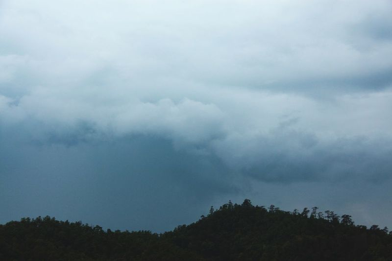 Sky And Clouds Clouds Mountains Rainy Days Nature Outdoors No People in North Thailand South East Asia